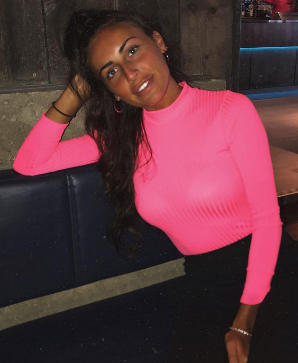 Rib Knit Polo Neck Long Sleeve Bodysuit In Neon Pink CTP-1553-NPNK -  Bodysuits - Fiorellashop.com ec1cec4ca